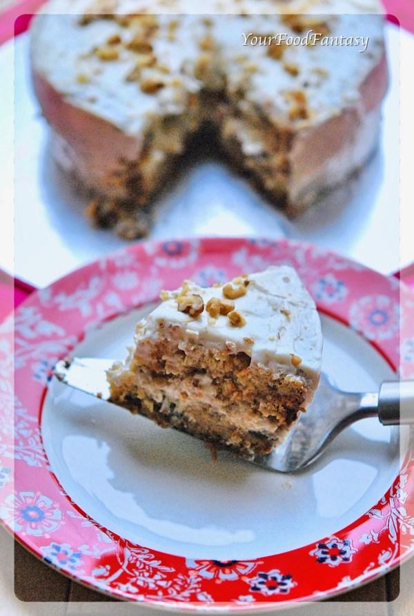 Carrot Cake Recipe | YourFoodFantasy.com by Meenu Gupta