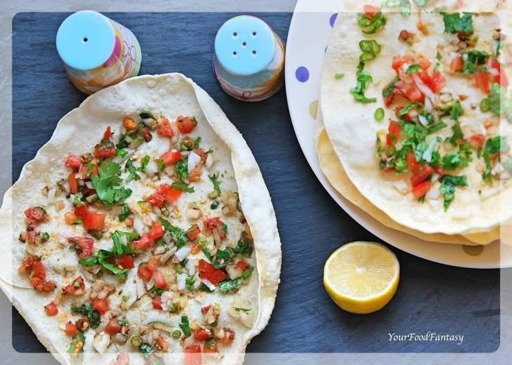 Mumbai Masala Papad Recipe   Your Food Fantasy