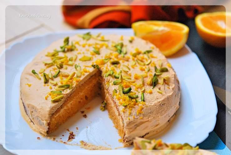 Pistachio Orange Cake Recipe | Your Food Fantasy