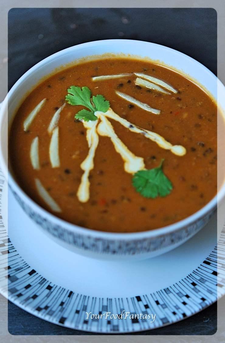 ITC Style Dal Bukhara | Your Food Fantasy