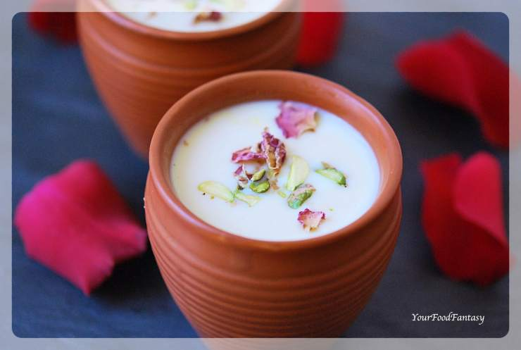 Rabri Recipe   Rabdi An Indian Dessert   YourFoodFantasy.com