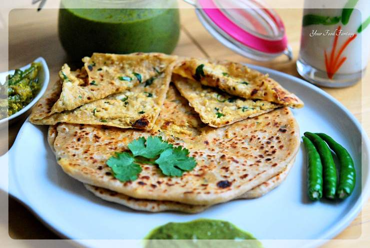 Paneer Paratha Recipe | Your Food Fantasy