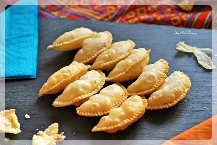 Traditional Gujiya   Your Food Fantasy
