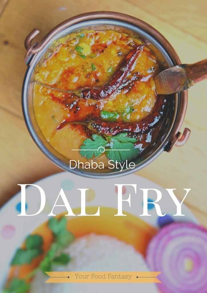 Dhaba Style Dal Tadka | Fry