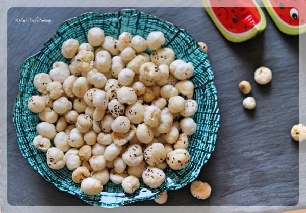 Roasted Makhana Recipe | Your Food Fantasy