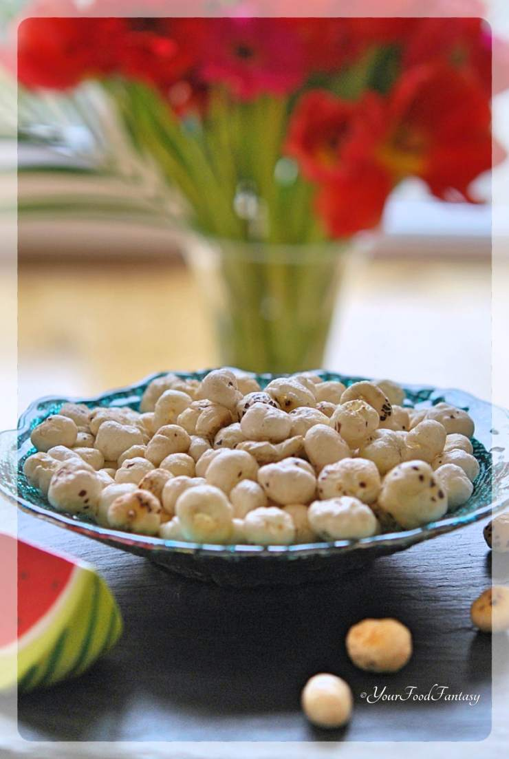 Roasted Makhana Recipe | YourFoodFantasy.com