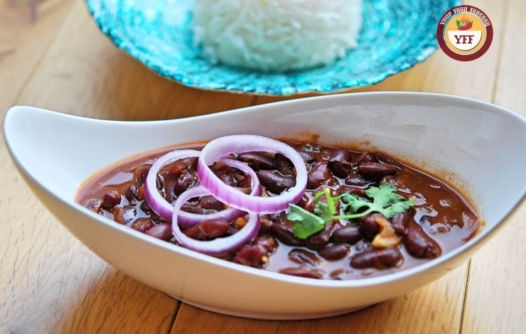 Punjabi Rajma Masala | Kidney Bean Curry | YourFoodFantasy.com