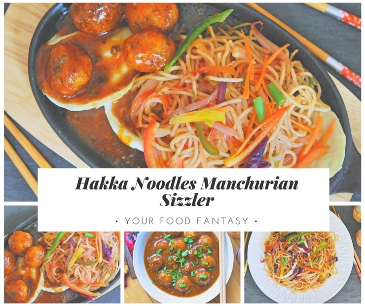 Hakka Noodles Veg Manchurian | Your Food Fantasy
