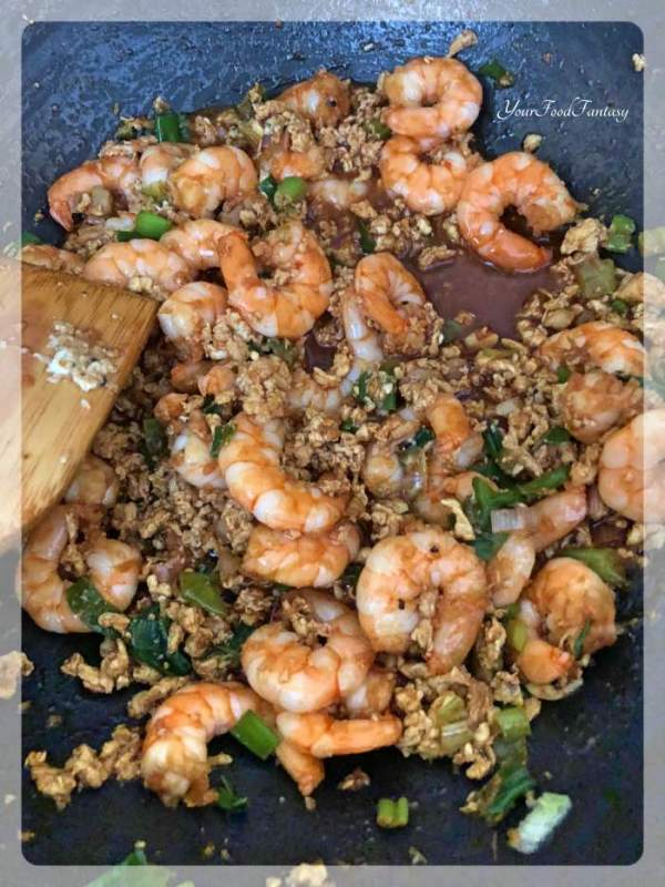 Prawn Fried Rice | Chinese Fried Rice recipe | Your Food Fantasy
