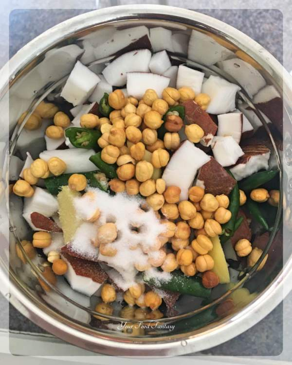 South Indian Coconut Chutney Recipe