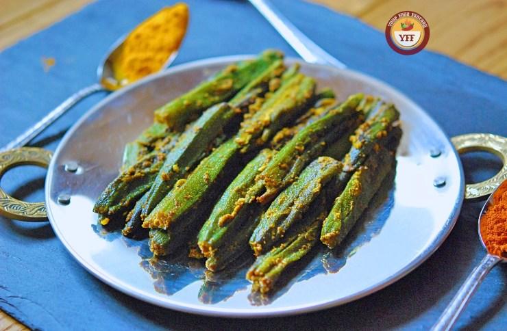 Bharwa Bhindi | Stuffed Okra Recipe | Your Food Fantasy