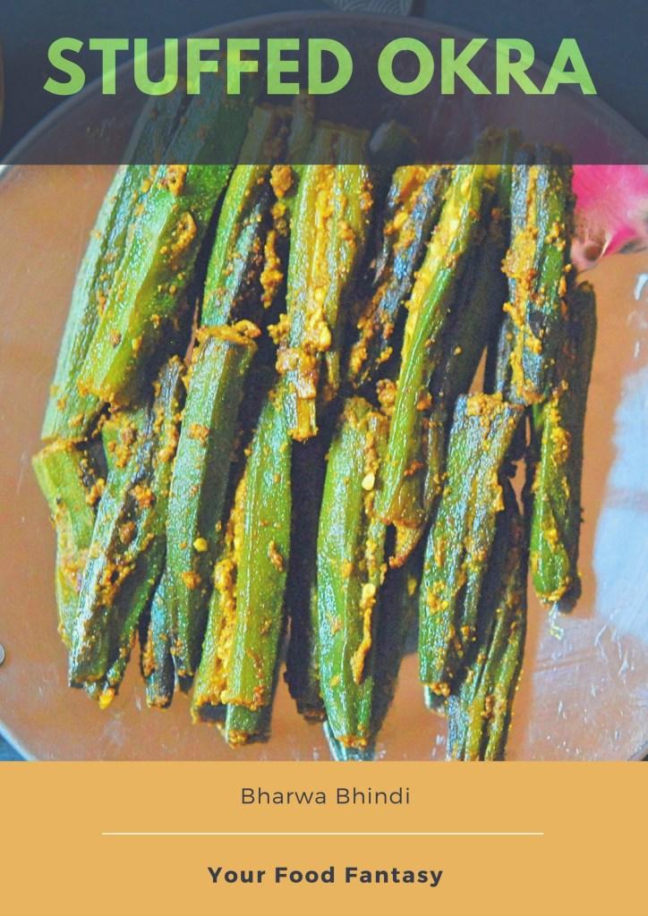Bharwa Bhindi Recipe | Stuffed Okra Recipe