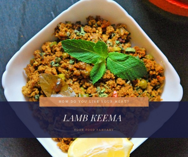 Lamb Keema | MInced Lamb Recipe