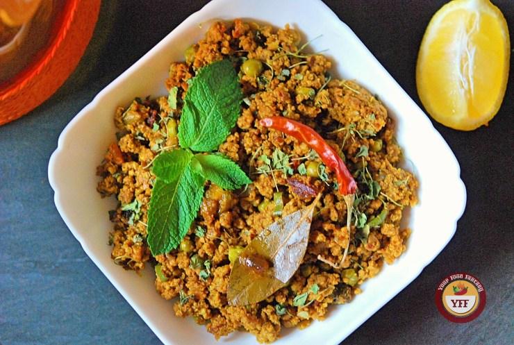 Lamb - Mutton Keema Recipe | Your Food Fantasy