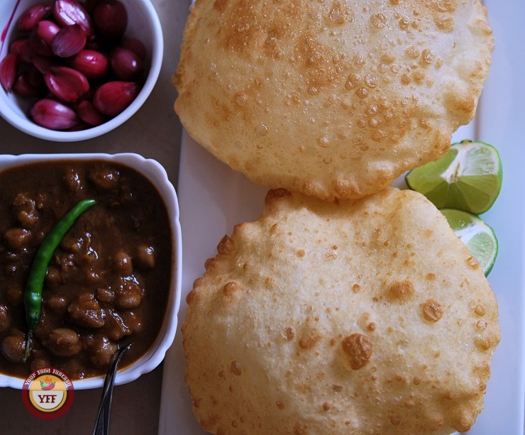 Punjabi Bhature | How to make Bhatura at home | Your Food Fantasy