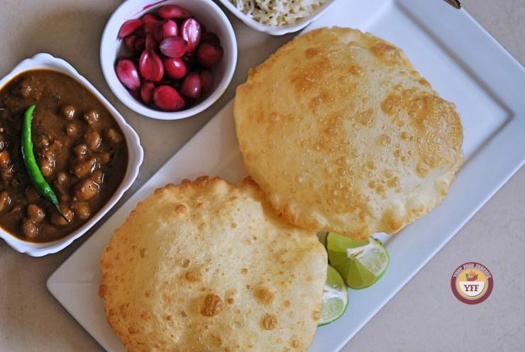 Punjabi Bhature | How to make Bhatura at home