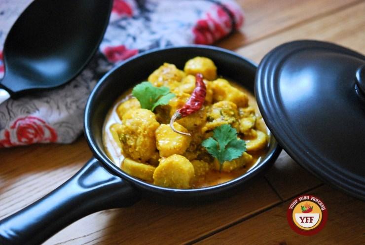 Dahi Ke Arbi Recipe | YourFoodFantasy.com