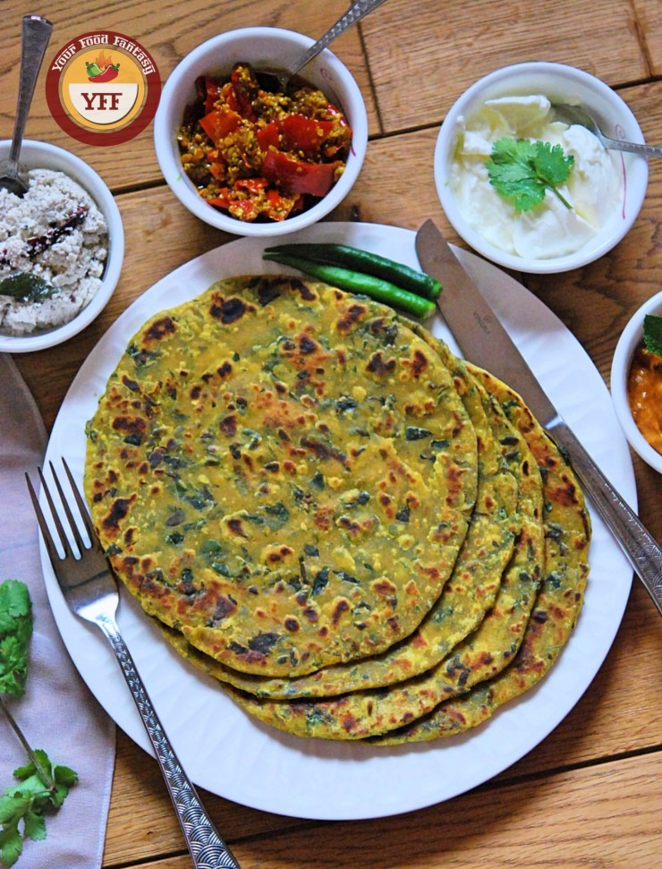 Gujrati Methi Thepla Recipe | YourFoodFantasy.com