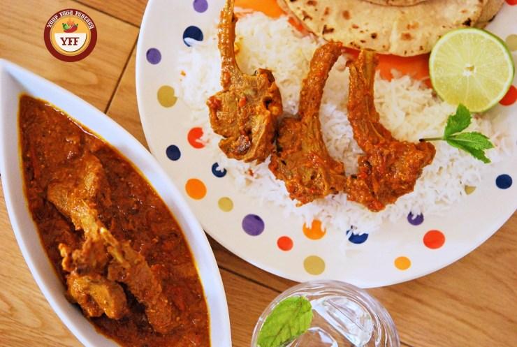 Lamb Chops Curry | Lamb Recipes | Your Food Fantasy