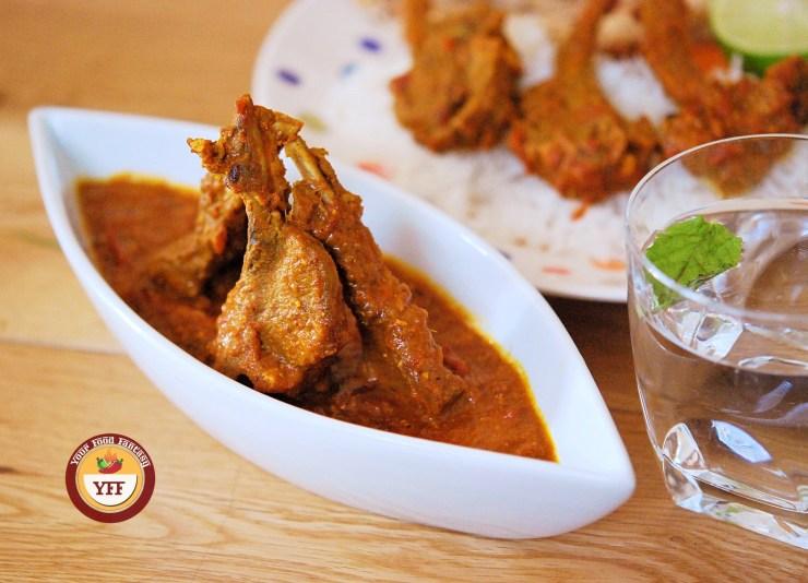 Lamb Chops Curry - Lamb Recipes   Your Food Fantasy