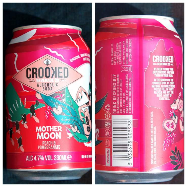 Crooked Alcoholic Soda Review - Degustabox
