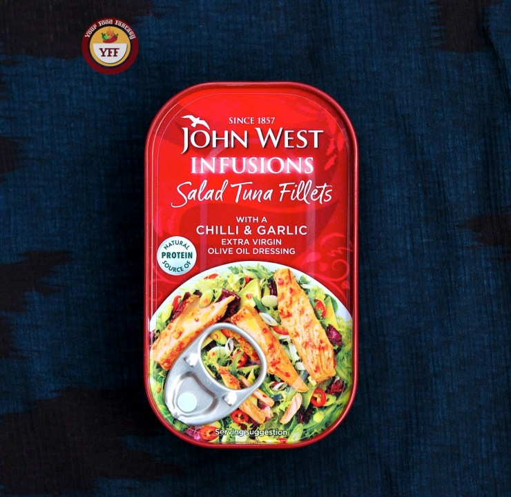 John West Salad Tuna Fillets - DegustaBox August Review