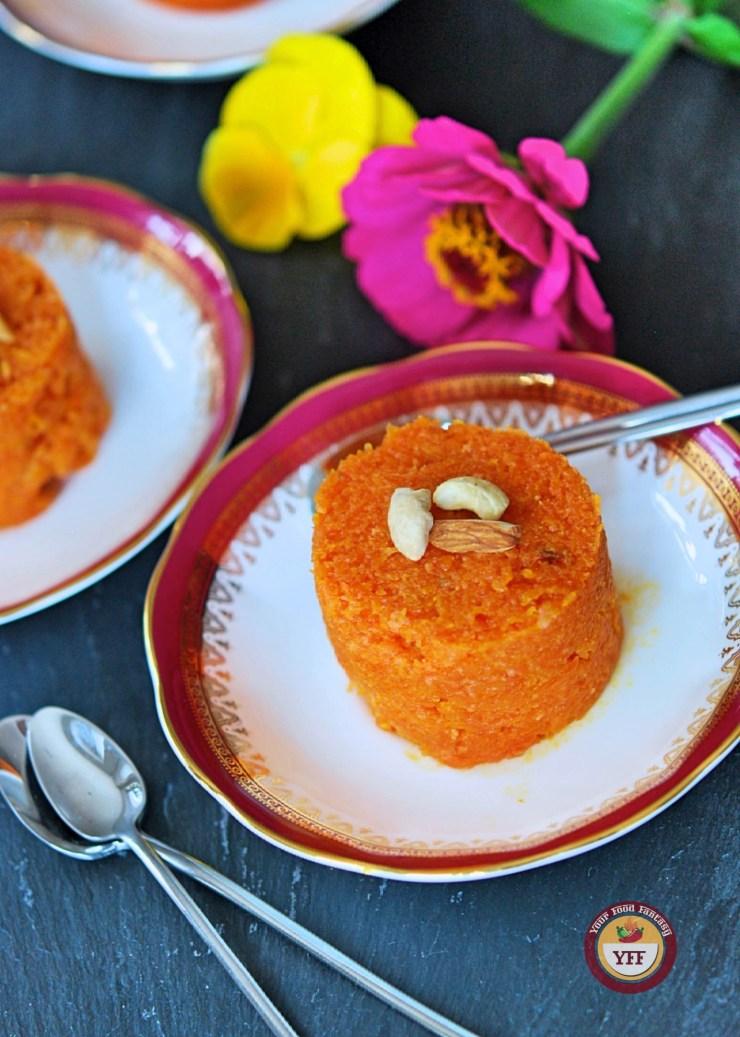 Gajar Ka Halwa | Traditional Indian Carrot Pudding Recipe | Your Food Fantasy