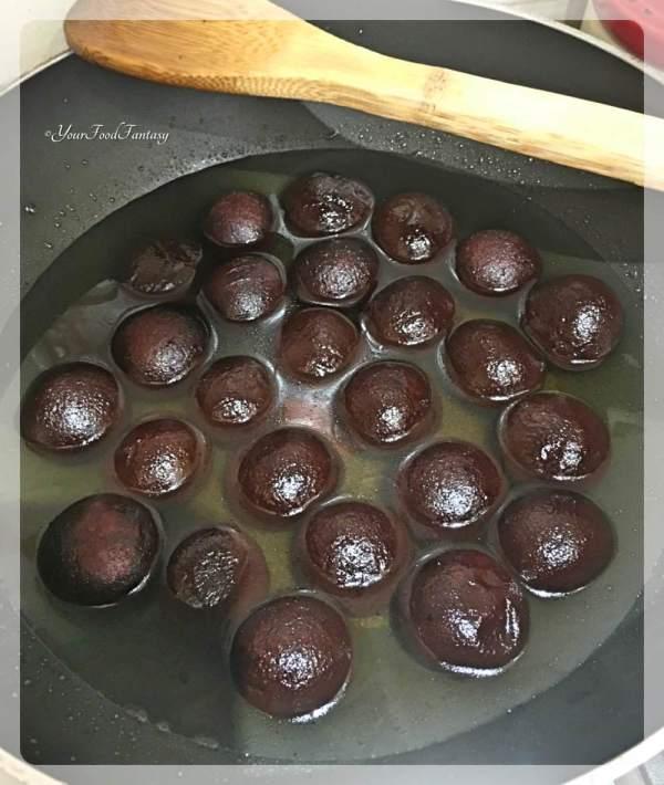Gulab Jamun Fusion   Chocolate Gulab Jamuns