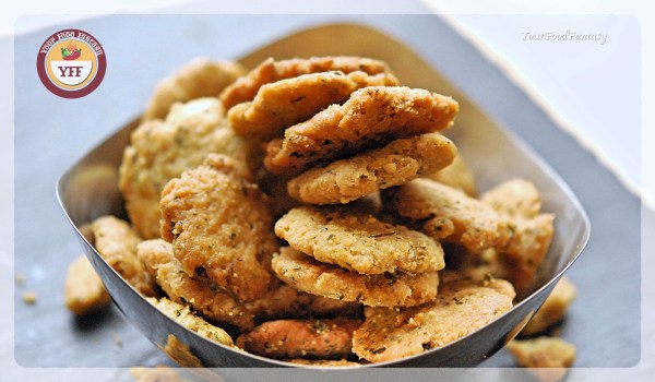 Crispy Mathri Recipe | Your Food Fantasy