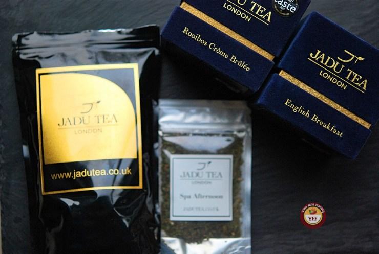 JaduTea Packing | Luxury Tea | Your Food Fantasy