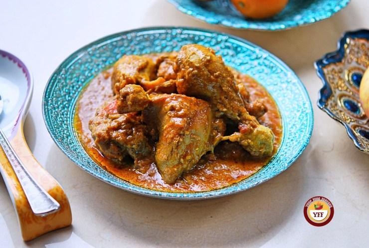 Chicken Korma Recipe | Keto Diet Recipe | YourFoodFantasy.com