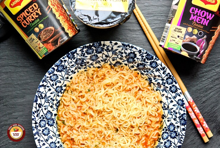 Maggi Noodles Reviews | Degustabox December 2018 Review by Your Food Fantasy