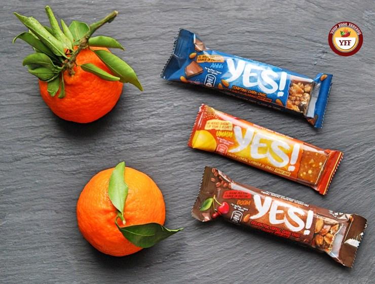 Yes Snacks - Fruit and Nut Bar Review by Your Food Fantasy
