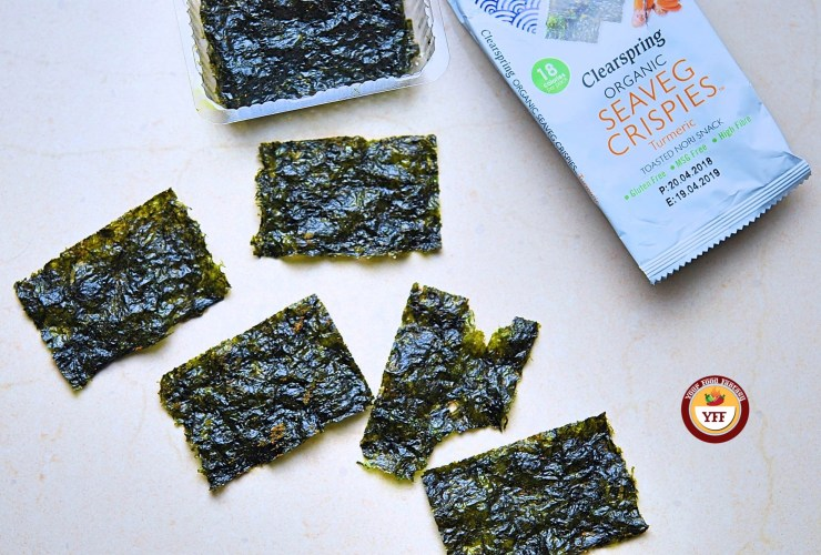 Clearspring Organic Seaveg Crispies reveiw | Your Food Fantasy