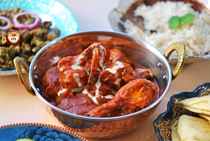 Ghee Roast Tandoori Chicken | YourFoodFantasy.com