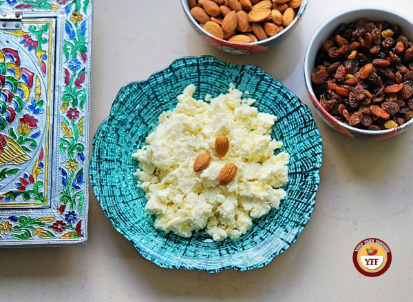 How to make Instant Mava - Khoya using Ricotta Cheese| Your Food Fantasy