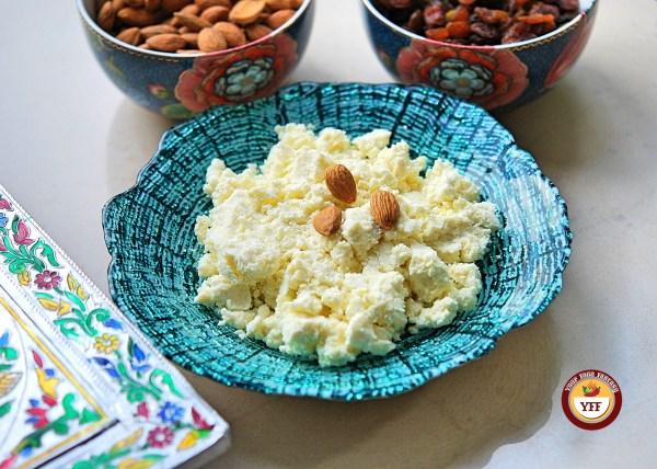 Instant Mava - Khoya recipe using Ricotta Cheese| Your Food Fantasy