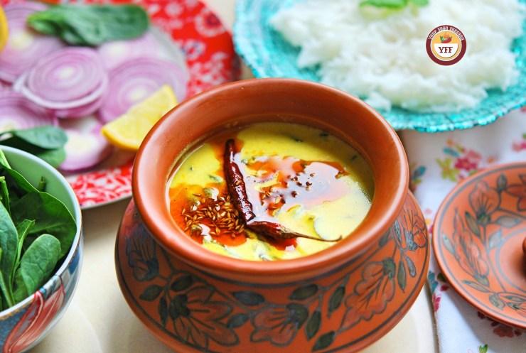 Easy Spinach Recipes | Palak Kadhi Recipe | Your Food Fantasy