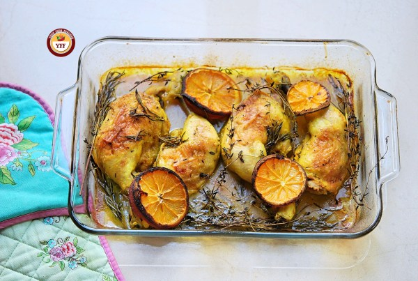 Ovenbaked Rosemary and Thyme Chicken legs   Chicken Recipes   YourFoodFantasy.com
