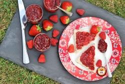Home made Raspberry and Strawberry Jam Recipe