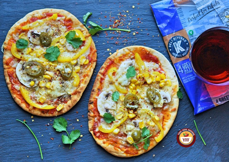 Deli Kitchen Greek Style Flat Bread Review by Your Food Fantasy