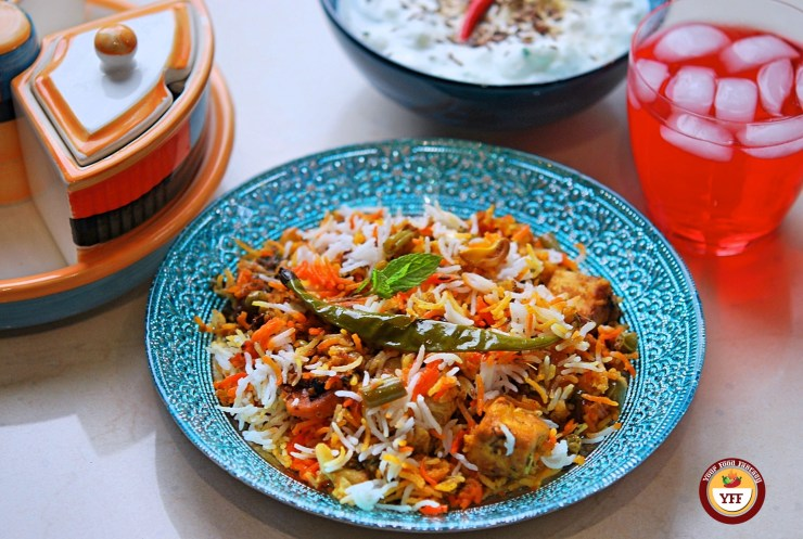 How To Make Vegetable Biryani - Your Food Fantasy