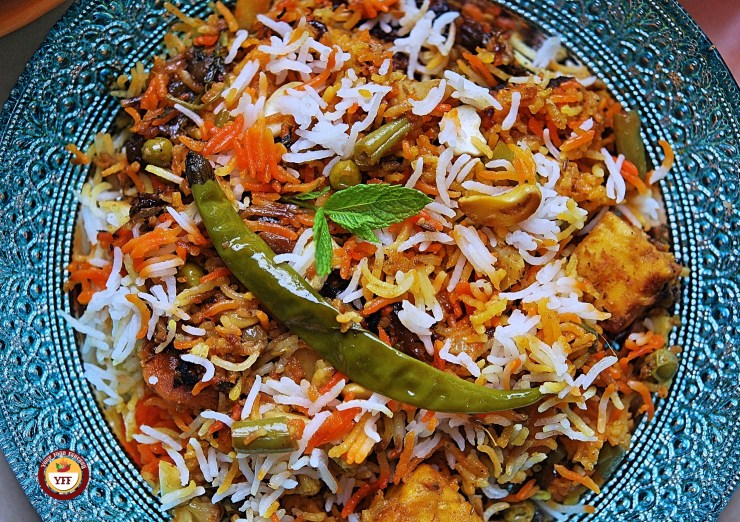 Veg Dum Biryani - Authentic Recipe - Your Food Fantasy