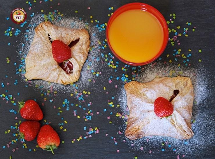 Apple & Strawberry Pockets   Apple recipes   YourFoodFantasy.com