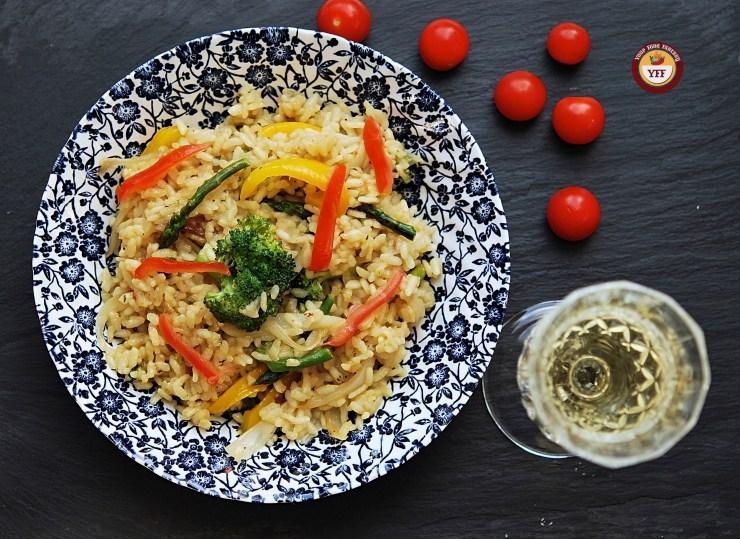 Vegetarian Risotto Recipe   Italian Food   Your Food Fantasy