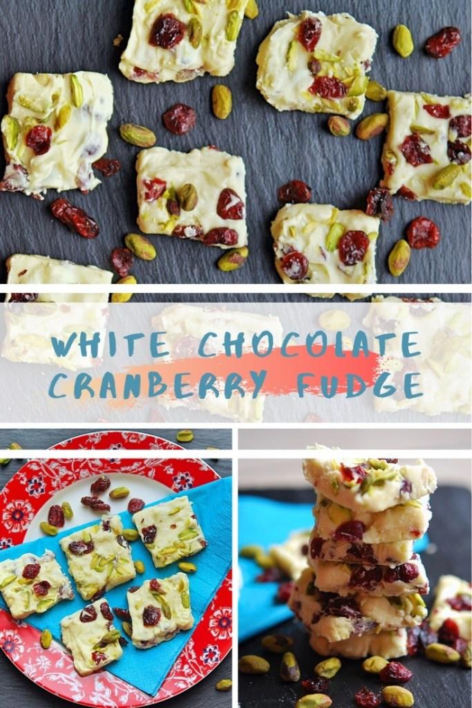 White Chocolate Cranberry Fudge Recipe Quick and Easy