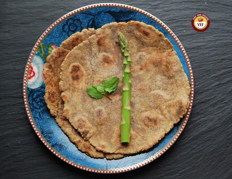 Amaranth Flour Paratha | Rajgira Paratha - YourFoodFantasy.com