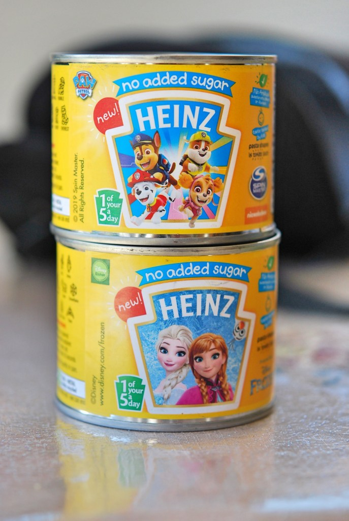 Heinz Paw Petrol & Disney Frozen Pasta Shapes Review | Your Food Fantasy