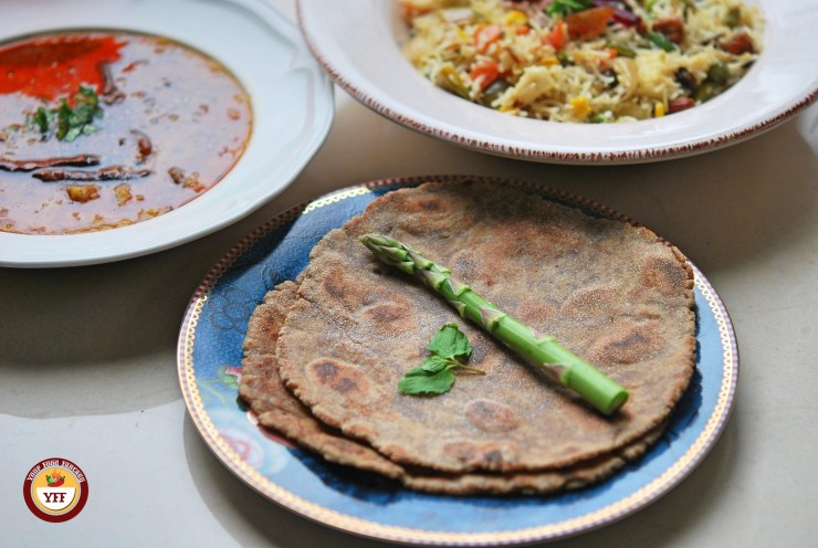 Meal Combo of Amaranth Flour paratha with Dal and Pulao - Your Food Fantasy
