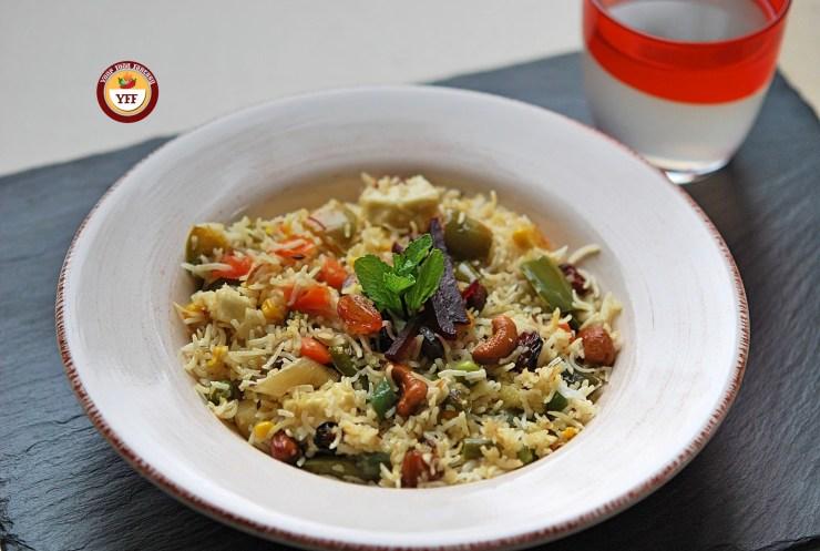 Navratan Pulao Rice   Your Food Fantasy